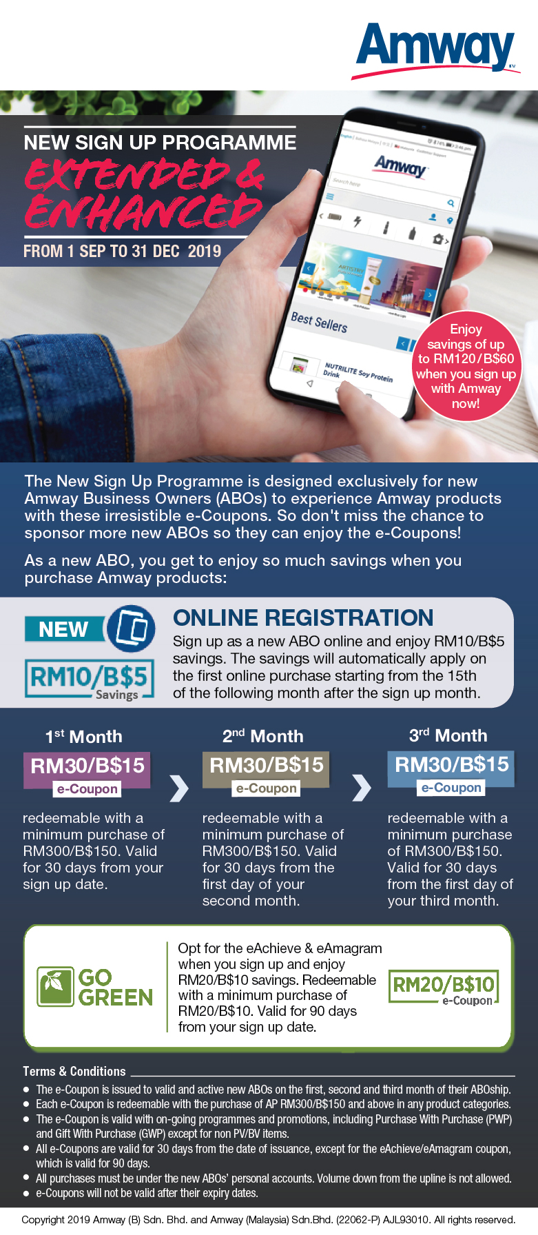 Announcement | Amway Malaysia
